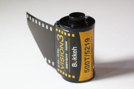 Bokkeh Vision3 500T Tungsten 5219 電影負片 35mm 電影底片