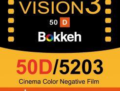 Bokkeh 柯達Kodak 50D 5203 電影底片 Vision3 Daylight 彩色電影負片 35mm