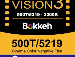Bokkeh Vision3 500T Tungsten 5219 電影負片 35mm 電影底片