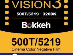 【2019年新品】Bokkeh 柯達Kodak 500T 5219 電影底片 Vision3 Tungsten 彩色電影負片 35mm