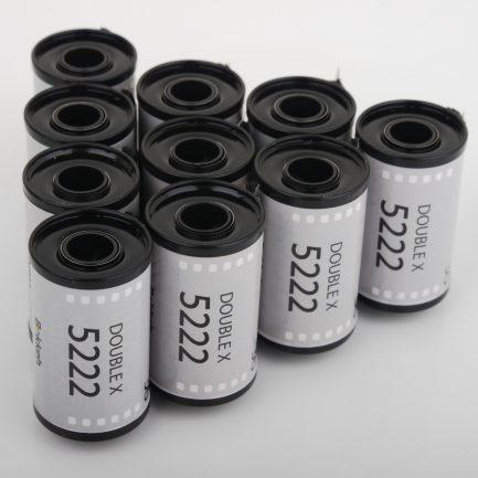 Bokkeh 柯達Kodak Double-X 5222 黑白電影底片 黑白負片 35mm (2020年最新庫存)