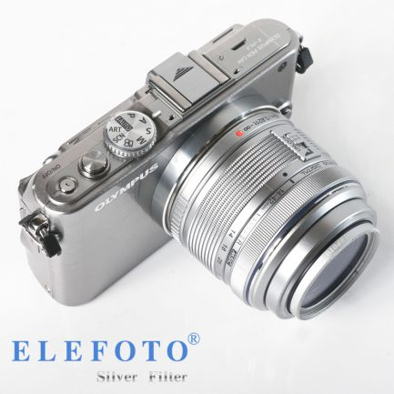 ELEFOTO XS-PRO1 DIGITAL MC-UV 超薄框UV鏡 12層鍍膜《銀框》