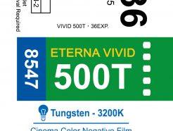 (庫存稀少不參與9折特賣) 富士Fuji 8547 電影負片500T Eterna Vivid 彩色負片 分裝片 底片