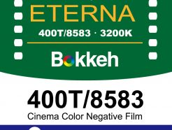 Bokkeh Eterna 400T Tungsten 8583 電影負片 35mm 電影底片