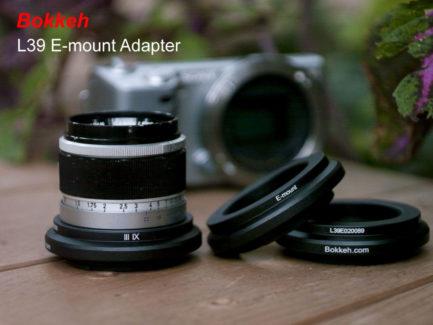Bokkeh L39 LTM M39 鏡頭轉接Sony E-mount 轉接環
