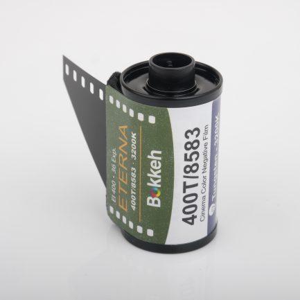 Bokkeh 富士Fuji 400T 8583 電影底片 Eterna Tungsten 彩色電影負片 35mm