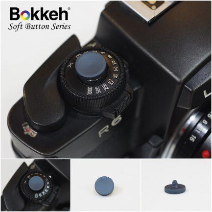 Bokkeh Blue 素色快門按鈕 風格快門鈕 金屬 藍 12mm