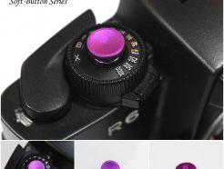 Bokkeh Violet Pruple 素色快門按鈕 風格快門鈕 金屬 紫 12mm
