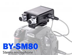 BOYA BY-SM80 立體聲麥克風