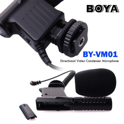 BOYA BY-VM01 單指向電容式麥克風