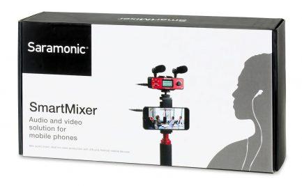 Saramonic SmartMixer 手機智慧混音器 XLR監聽器