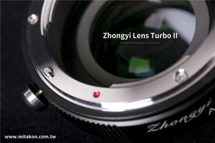 中一光學 減焦環 2代 Nikon AI-FX 富士Fuji相機 減焦增光環廣角轉接環