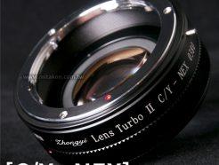中一光學 減焦環 2代 Contax CY-NEX SONY E系列相機 減焦增光環廣角轉接環