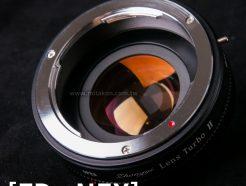 (客訂商品)中一光學 減焦環 2代 Canon FD-NEX SONY E系列相機 減焦增光環廣角轉接環