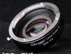 中一光學 減焦環 2代 EOS EF-FX 富士Fuji相機 減焦增光環廣角轉接環