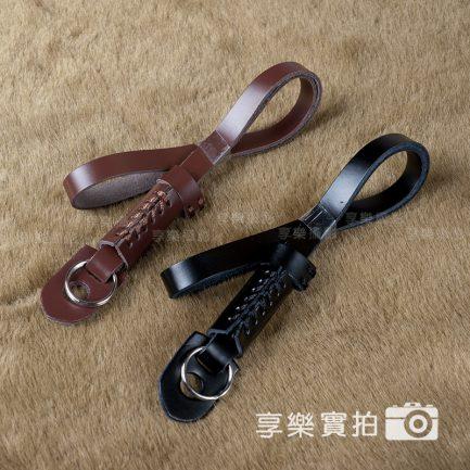 高品質小牛皮手腕帶 / 手腕繩 真皮 純牛皮 (黑色/咖啡色)