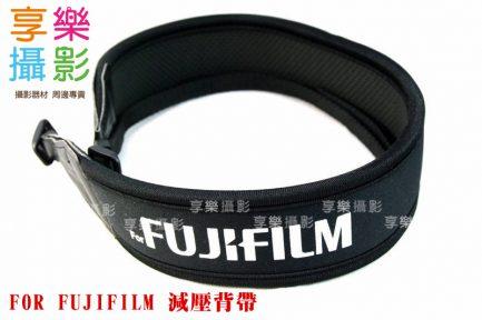 for Fujifilm 富士字樣 彈性背帶 輕便減壓相機背帶