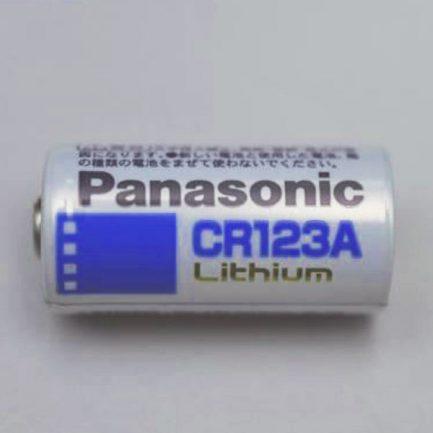 原廠 Panasonic CR123 CR-123 3V鋰電池 一次性 不可充