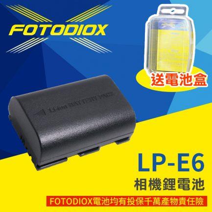 FOTODIOX Canon LP-E6 破解版 5D2 7D 6D 5D3 6D2