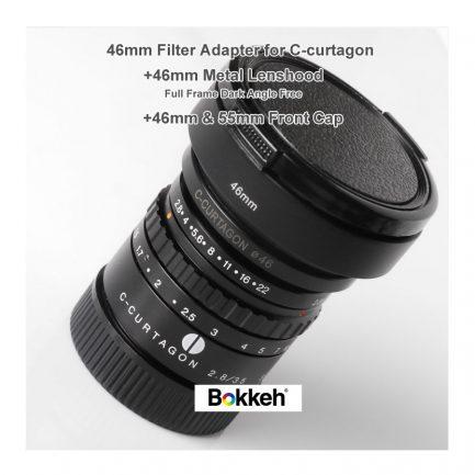 C-Curtagon 35 46mm 專用濾鏡轉接環 baby C 轉接後可裝遮光罩 濾鏡 保護鏡