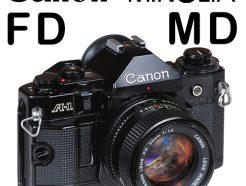 FD / MD 相機專用轉接環