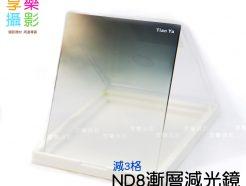 TY ND8 Soft方漸層灰減光片(Cokin P相容)
