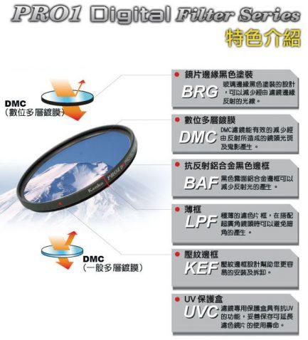 Kenko多層Pro1D Protector UV保護鏡 《37mm-46mm》