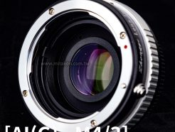(客訂商品)中一光學 減焦環 2代 Nikon Ai(G) -M4/3