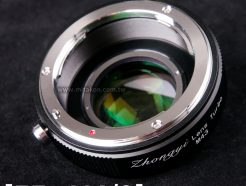 中一光學 Lens Turbo II 減焦環 2代 EOS EF-M4/3