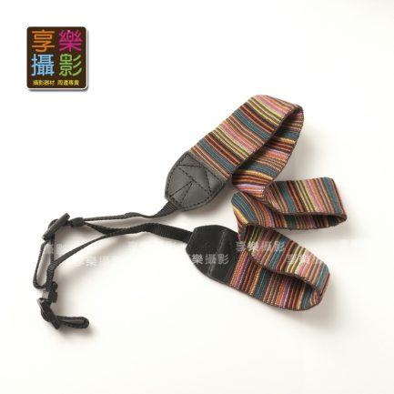民族風彩紋布質背帶