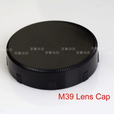 M39/L39 鏡後蓋 鏡頭後蓋 塑膠 黑色 Leica M39 LTM Zenit M39