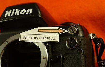 Nikon Fuji 閃光燈同步蓋