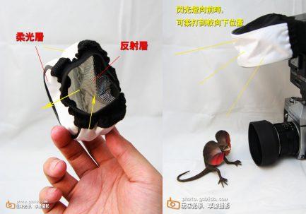 閃光燈柔光罩 通用型布柔光罩