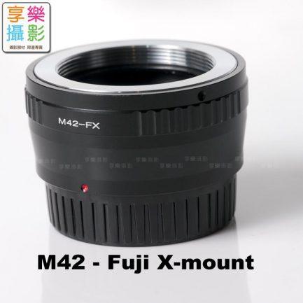 M42 - Fuji FX Pro 轉接環 有光圈檔板
