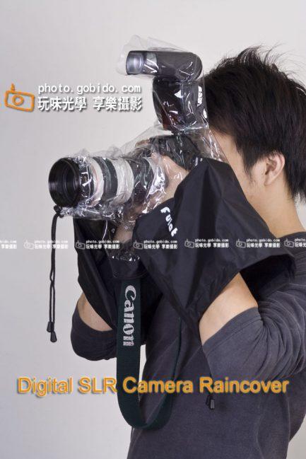 單眼相機專用SLR DSLR 相機雨衣 防雨罩 *有預留閃燈孔