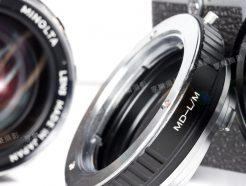 Minolta MD MC 鏡頭 - Leica M LM 轉接環