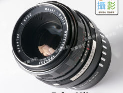 Exakta Exacta EXA鏡頭 - M4/3 Micro 4/3 相機轉接環 斑馬紋