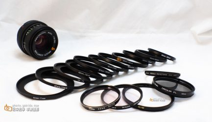 濾鏡轉接環 口徑轉接 小轉大 43.5mm-46mm