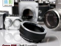 Canon EOS EF - Fuji X Pro FX 轉接環