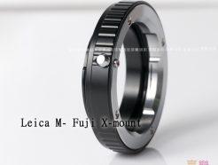 Leica M 鏡頭 - Fuji X Pro FX 轉接環