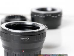 Pentax PK 鏡頭 - Fuji X Pro FX 轉接環