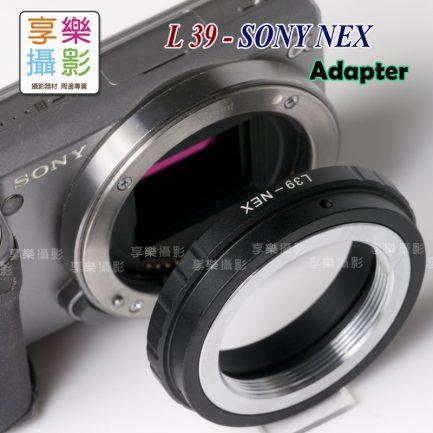 L39 LTM M39 鏡頭 - Sony E-mount NEX 轉接環