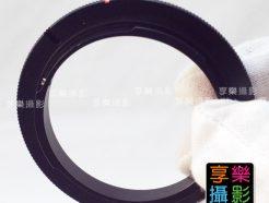 Canon EOS EF接環 鏡頭倒接環 52mm 58mm