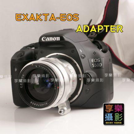 Exakta Exacta Topcon Angenieux 鏡頭轉接Canon 佳能 EOS EF相機 轉接環