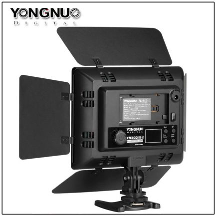 永諾 YN-300-III 機頂LED持續燈 3代 可調色溫 保一年 YN300 攝影燈 新聞燈補光燈 外拍燈 錄影
