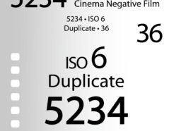 Bokkeh 柯達Kodak 5234黑白電影拷貝負片  iso3 超究極細緻! 電影底片 workflow