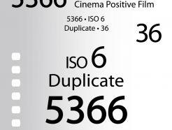 柯達Kodak 5366黑白電影拷貝正片 iso6 超究極細緻!