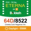 (庫存稀少不打折)Bokkeh 富士Fuji 64D 8522 電影底片 Daylight 極細緻 彩色電影負片 35mm