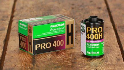 富士 Fujifilm Pro 400H 專業彩色負片 彩負 Fuji