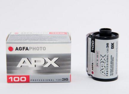 愛克發 Agfa APX 100 黑白負片 B&W 德國原廠盒裝